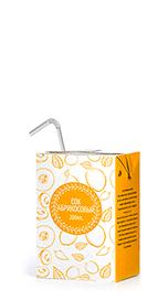 Соки ГОСТ, вкус Абрикос, упаковка 200 мл.