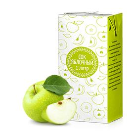 Соки ГОСТ, вкус Яблоко (прямой отжим)